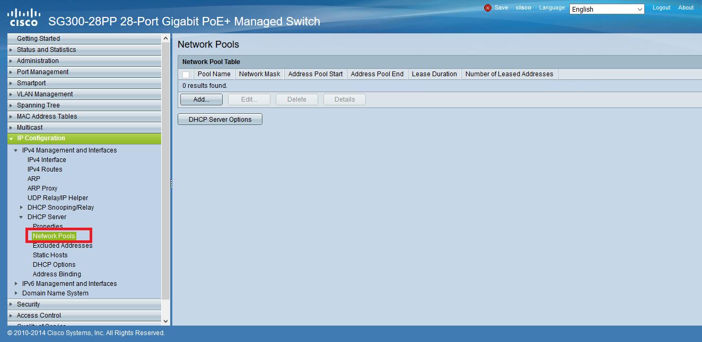 DHCP در Cisco Small Business