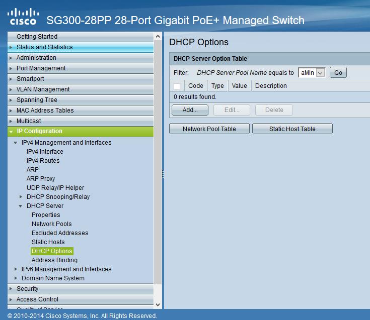 تنظیم DHCP روی سیسکو