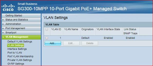 VLAN Setting