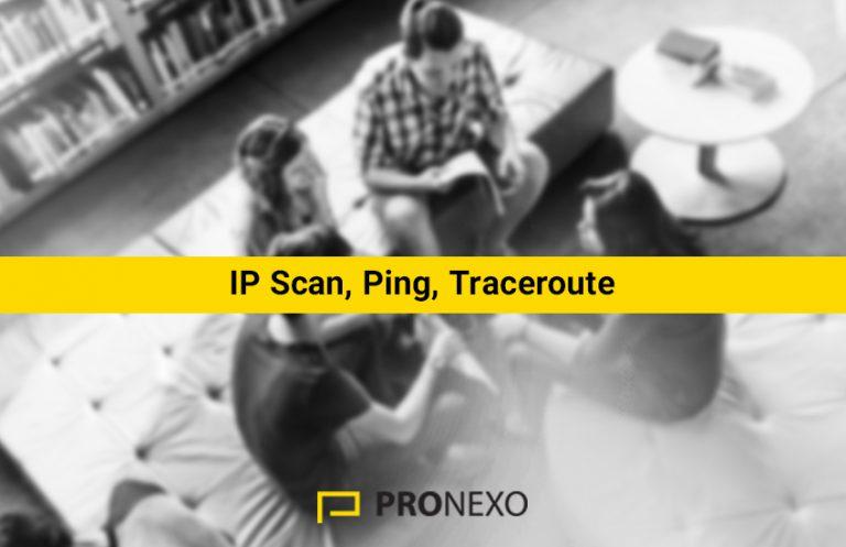 بررسی Ping و Traceroute و عملکرد IP Scan در میکروتیک