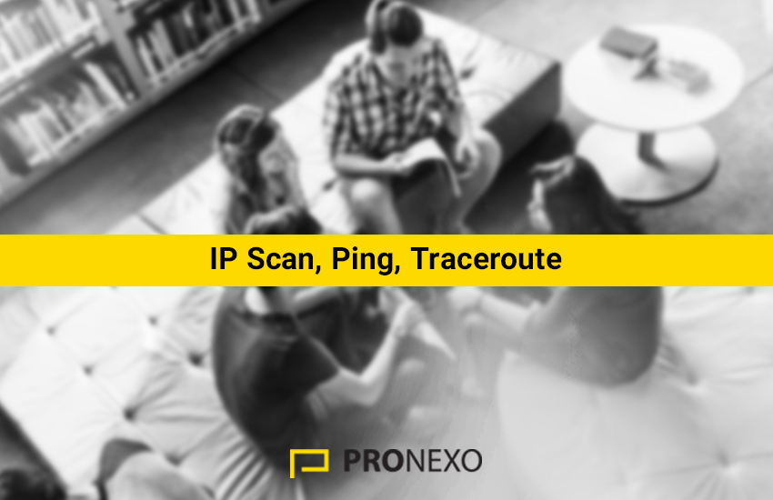 Mikrotik IP Scan Ping Traceroute