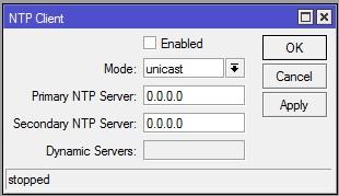 NTP Clinet